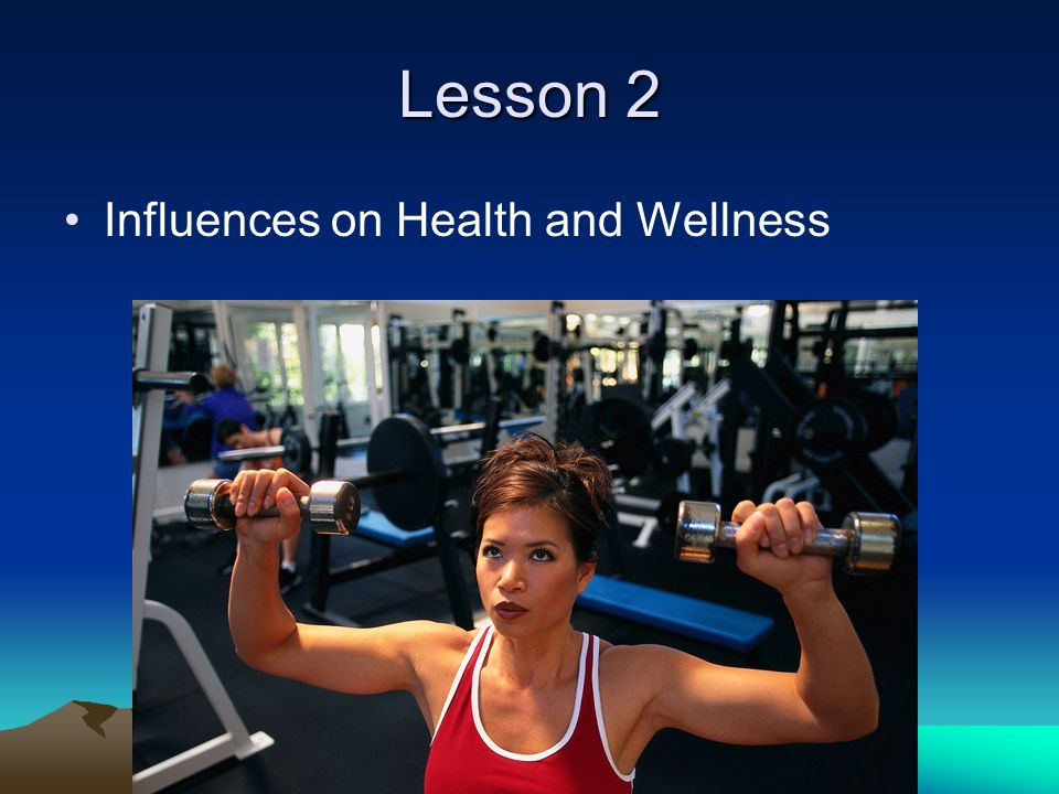 Lesson 2 Influences on Health and Wellness