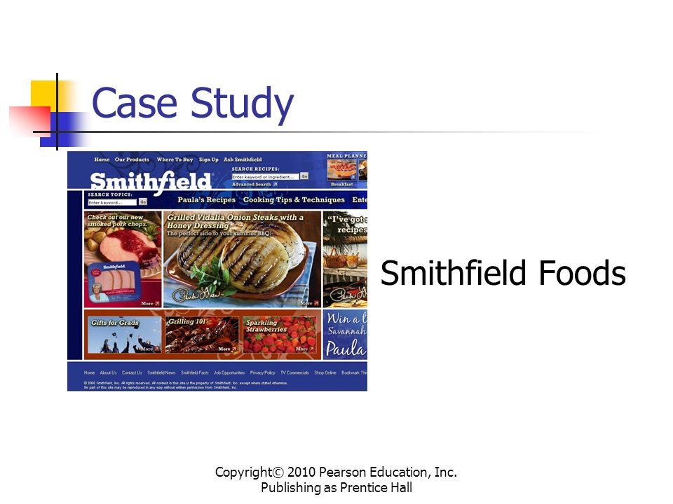 doughtie foods inc case study This case examines an interesting real-life occurrence of alleged financial  statement fraud by diamond foods, inc specifically, the company purportedly.