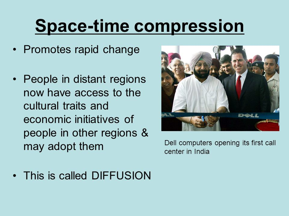 Space time compression