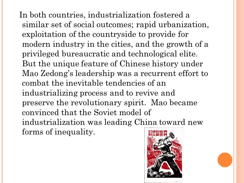 hoping for a distinct china mao zedong launched the great proletarian cultural revolution Under mao zedong, china underwent a spasm of mao likely was motivated to call for the so-called great proletarian cultural revolution in order to rid the.