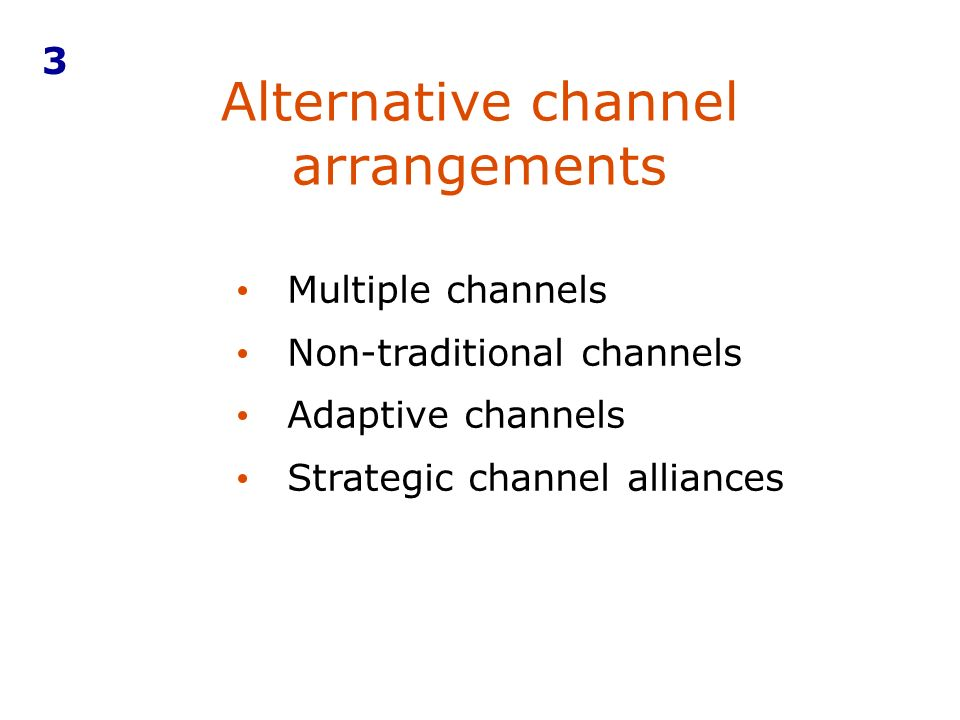 non conventional channels Summary• many factors affect choice of marketing channel that includes nature of product, consumer, company, middlemen and market considerations• channel structure varies from '0' level to multi- level• non-conventional channel includes door-to-door, consumer co-operatives etc chapter 1 marketing.
