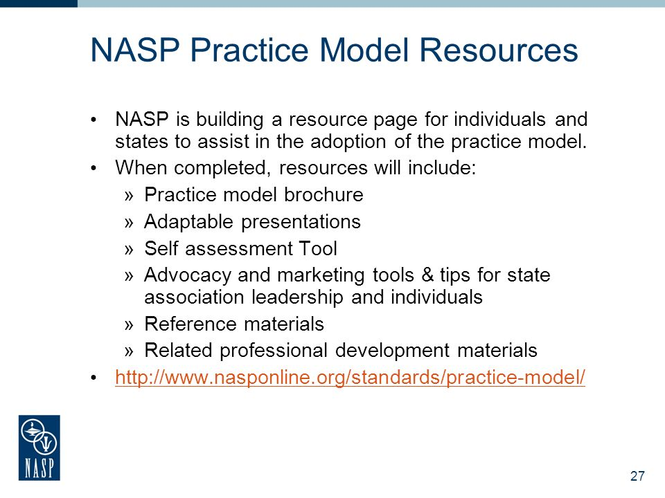 NASP Practice Model Resources