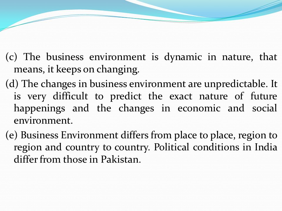 dynamic nature of the environment essay Overuse of renewable natural resources, causing problems such as water and air   of economic activity in europe, both because of the dynamic growth of the.