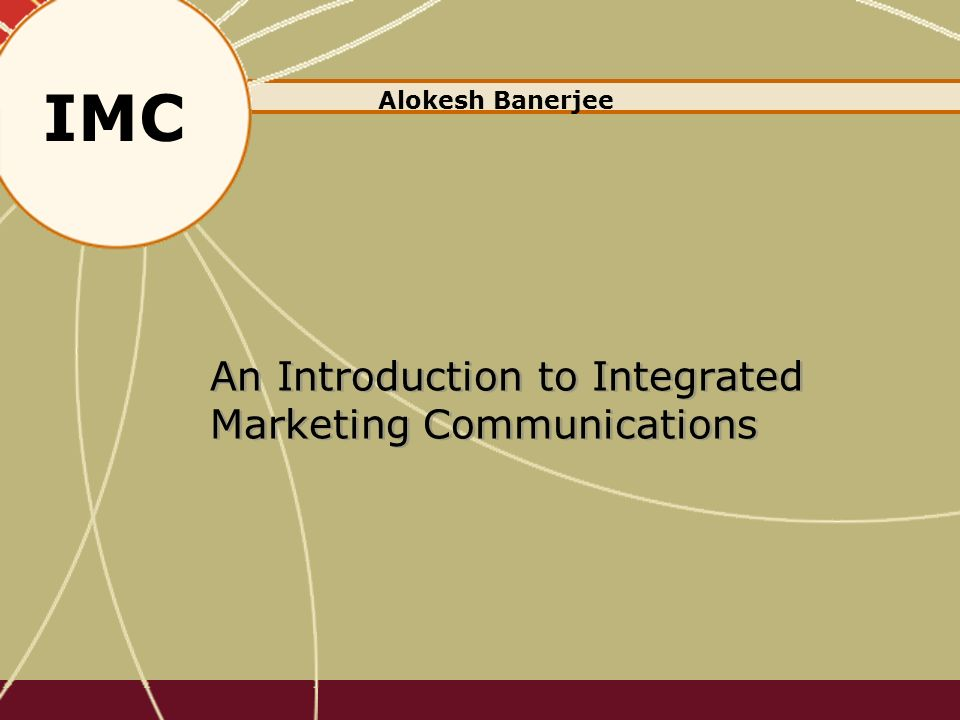 introduction to integrated marketing communications Introduction we have been learning that having a solidified integrated marketing  communications with customers is king this project is a.