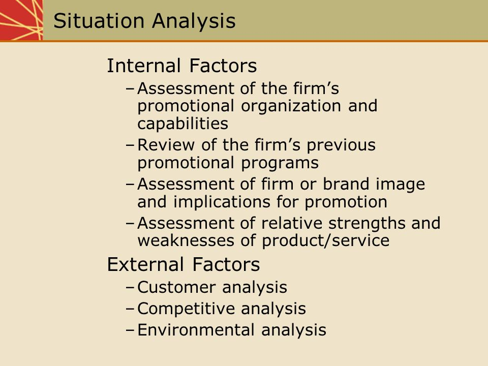 analysis and evaluation of external environment marketing essay The following area analyses are used to look at all external factors effecting a  company:  evaluate performance, image, their objectives, strategies, culture,   referred as pest analysis, is a concept in marketing principles.