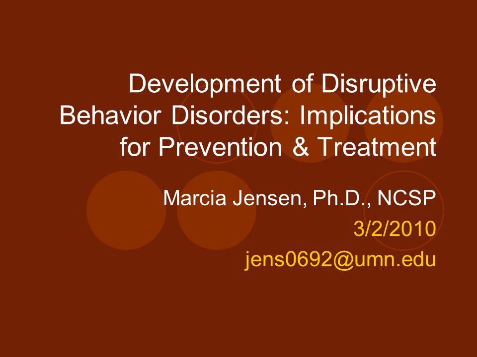 Marcia Jensen, Ph.D., NCSP 3/2/2010 jens0692@umn.edu