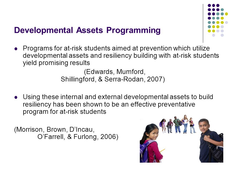 Developmental Assets Programming