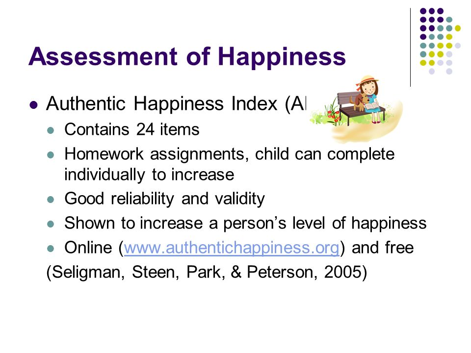 Assessment of Happiness