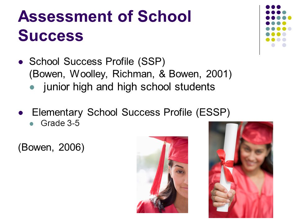 Assessment of School Success