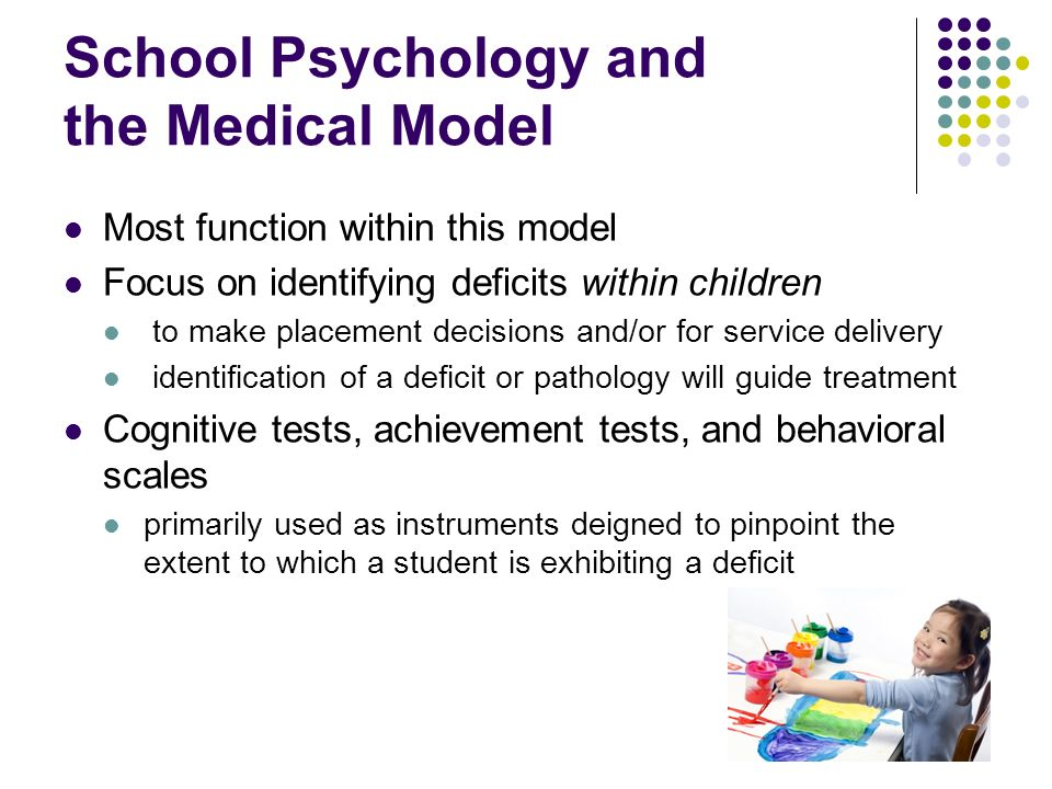 School Psychology and the Medical Model