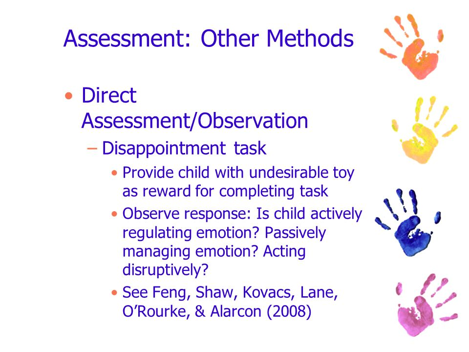 Assessment: Other Methods