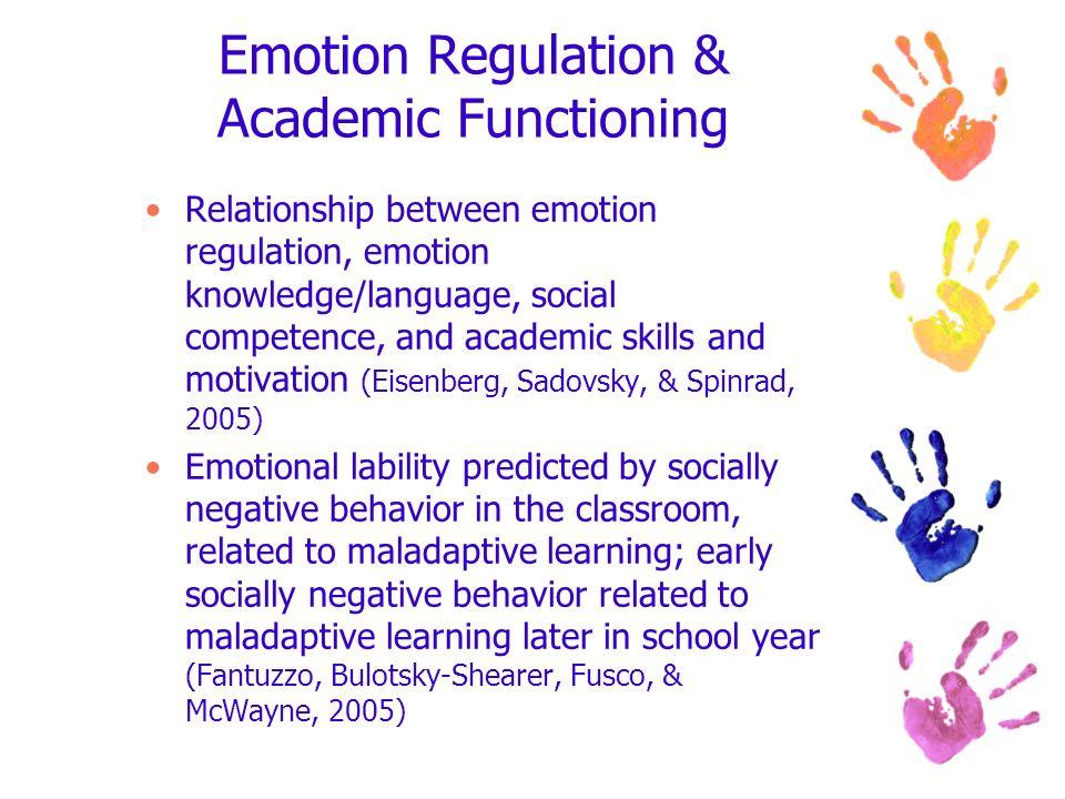 Emotion Regulation & Academic Functioning