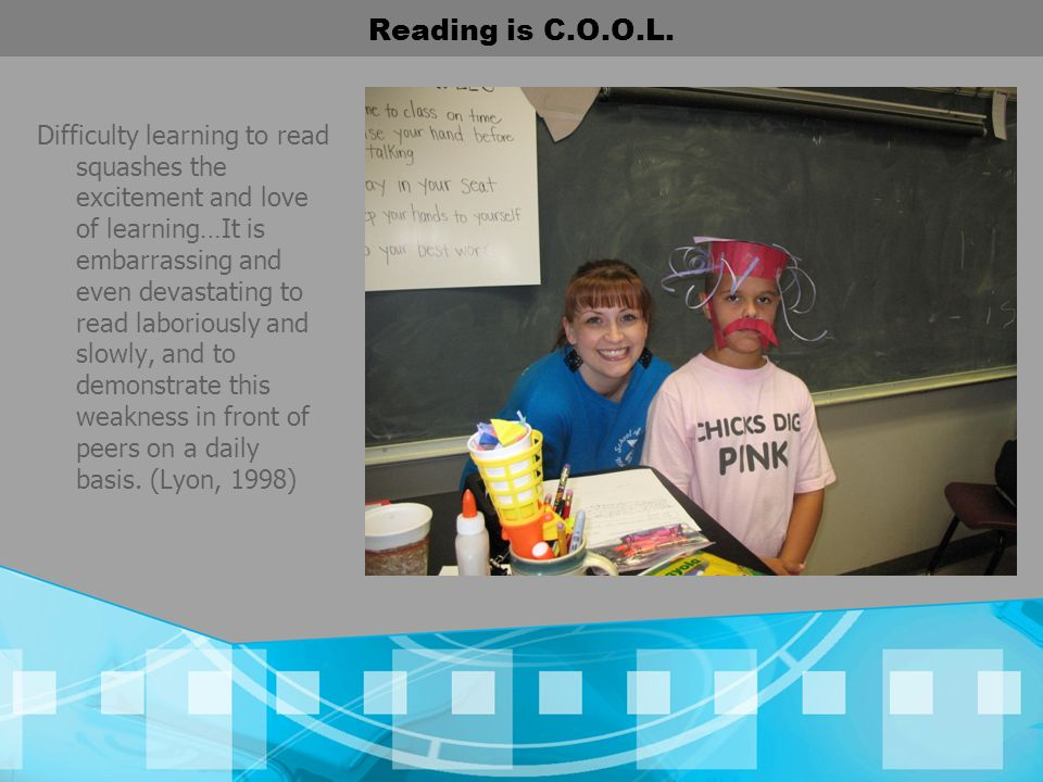 Reading is C.O.O.L.