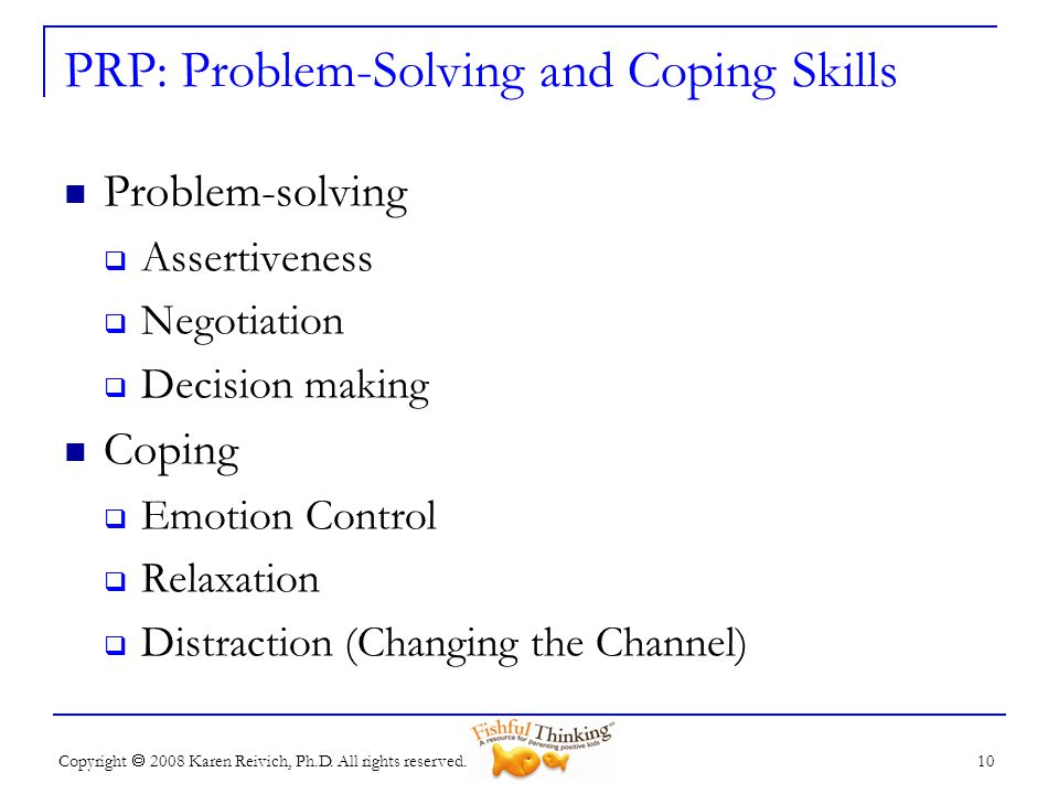 PRP: Problem-Solving and Coping Skills