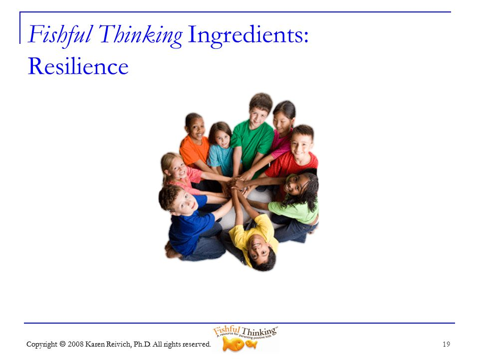 Fishful Thinking Ingredients: Resilience