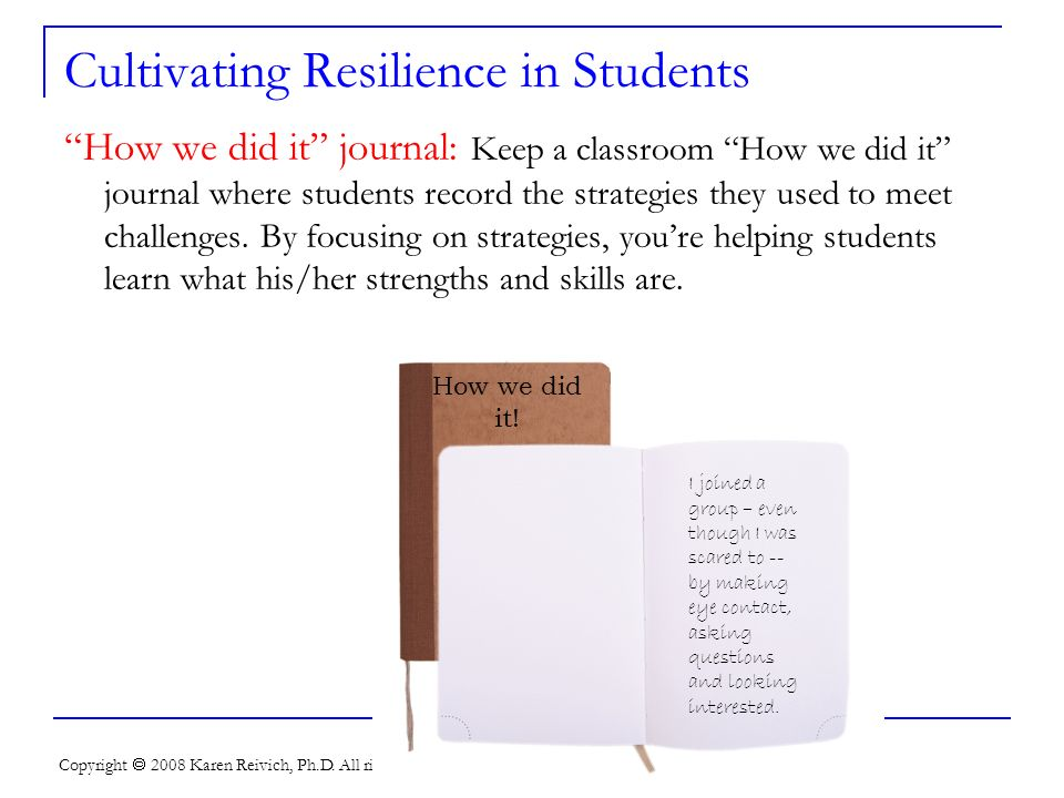 Cultivating Resilience in Students