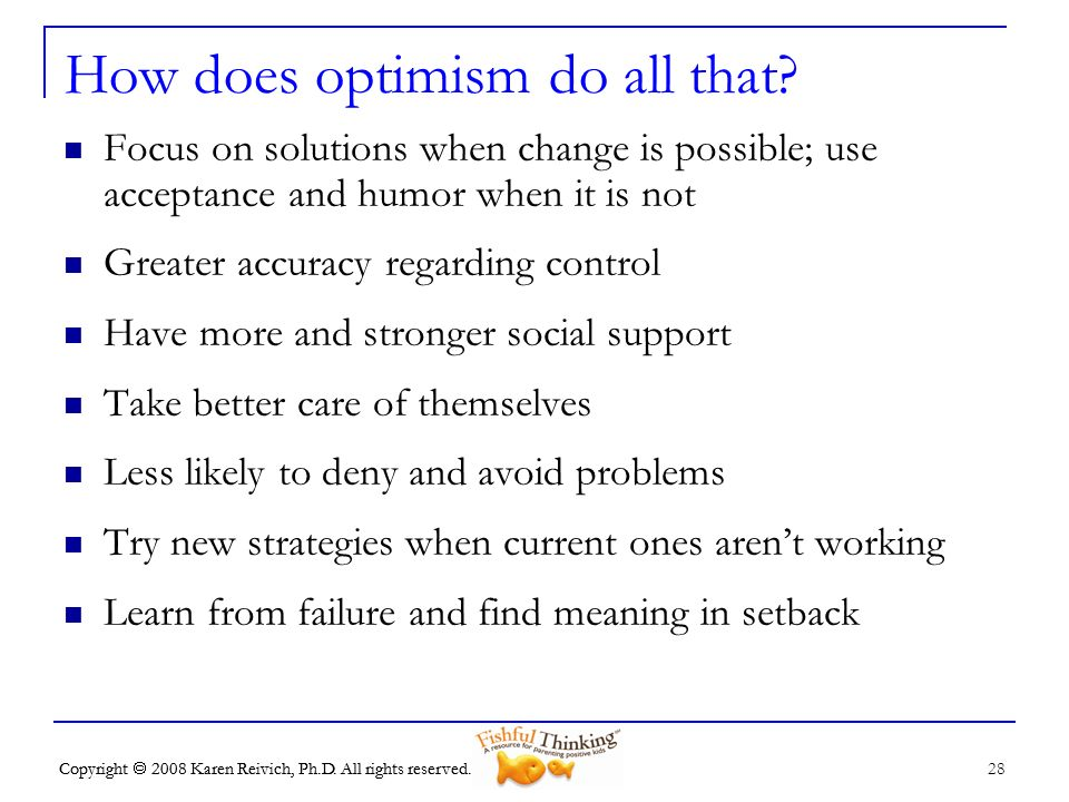 How does optimism do all that