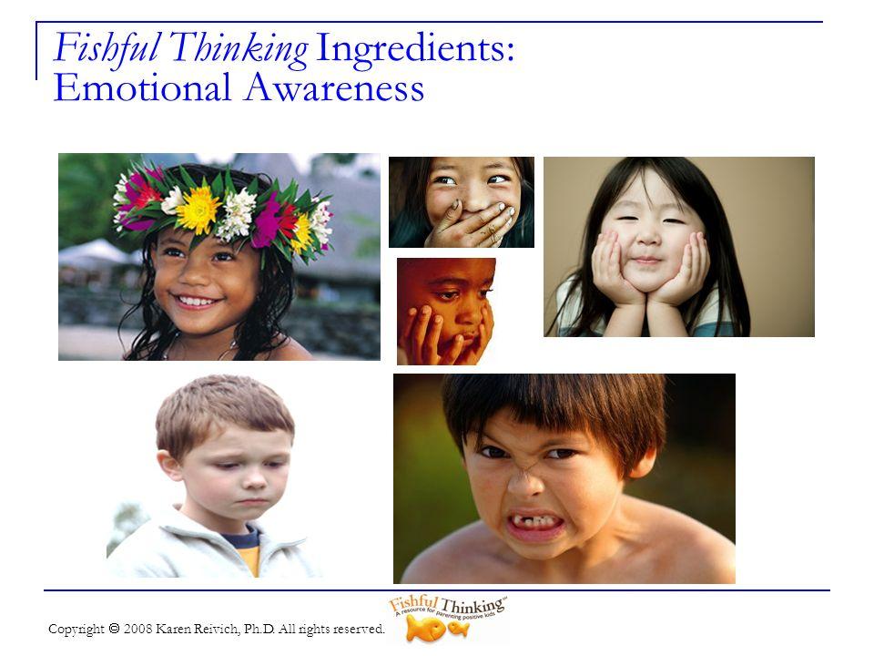 Fishful Thinking Ingredients: Emotional Awareness