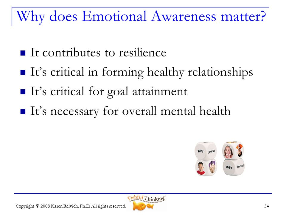 Why does Emotional Awareness matter