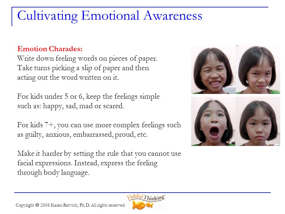 Cultivating Emotional Awareness
