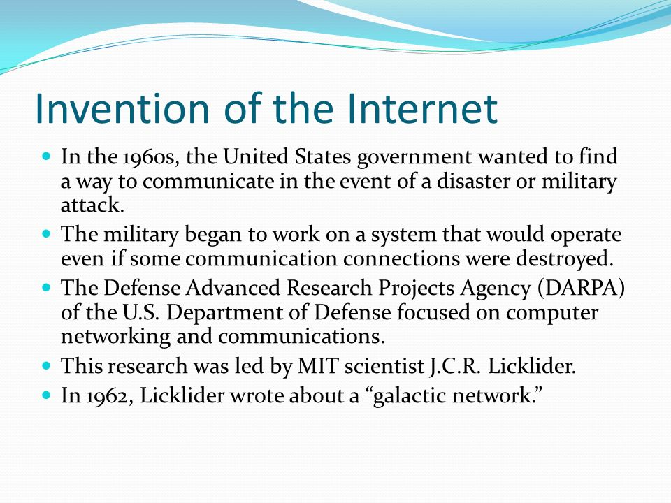 invention of the internet I thought al gore invented the internet vin october 12, 2009 5:45 pm it's funny, even without knowing of the specific creat/create comment, i actually read this and assumed that he was being sarcastic.