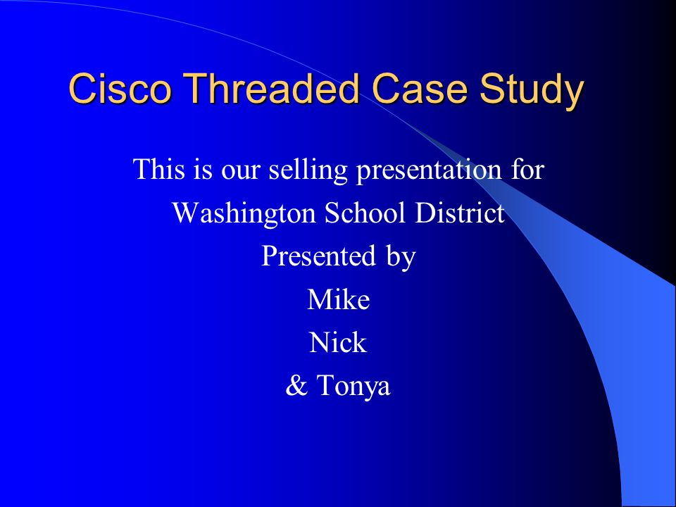 case study cicso News about cisco systems inc commentary and archival information about cisco systems inc from the new york times.
