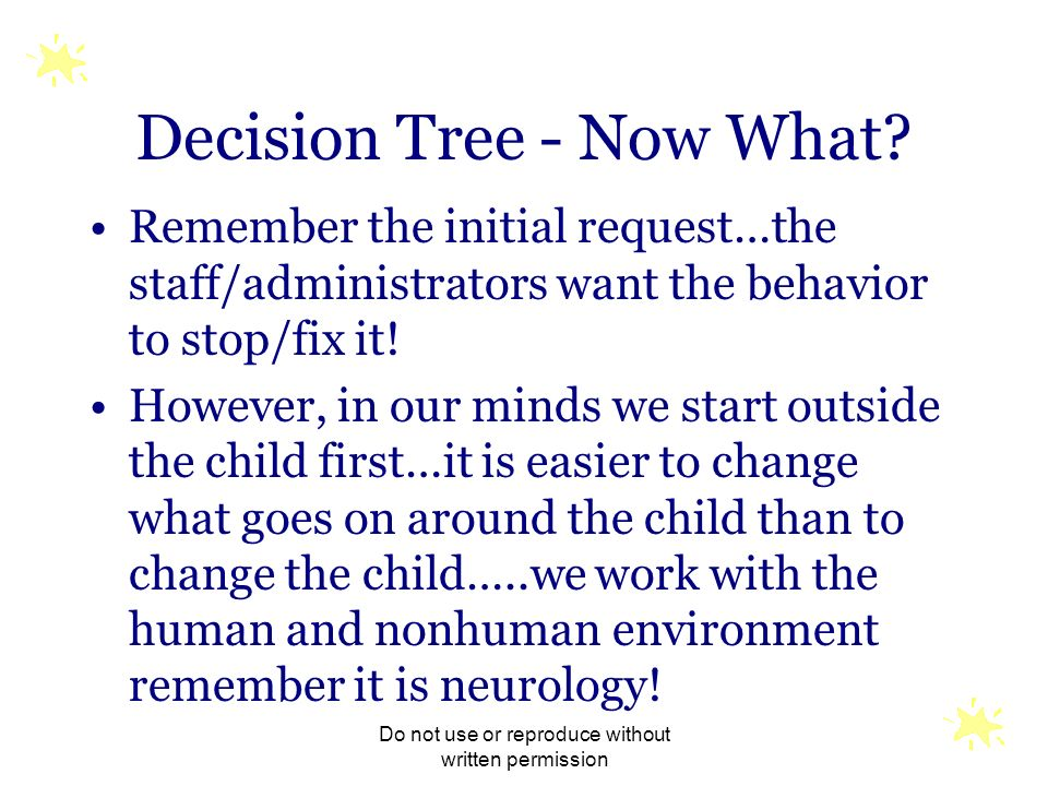 Decision Tree - Now What