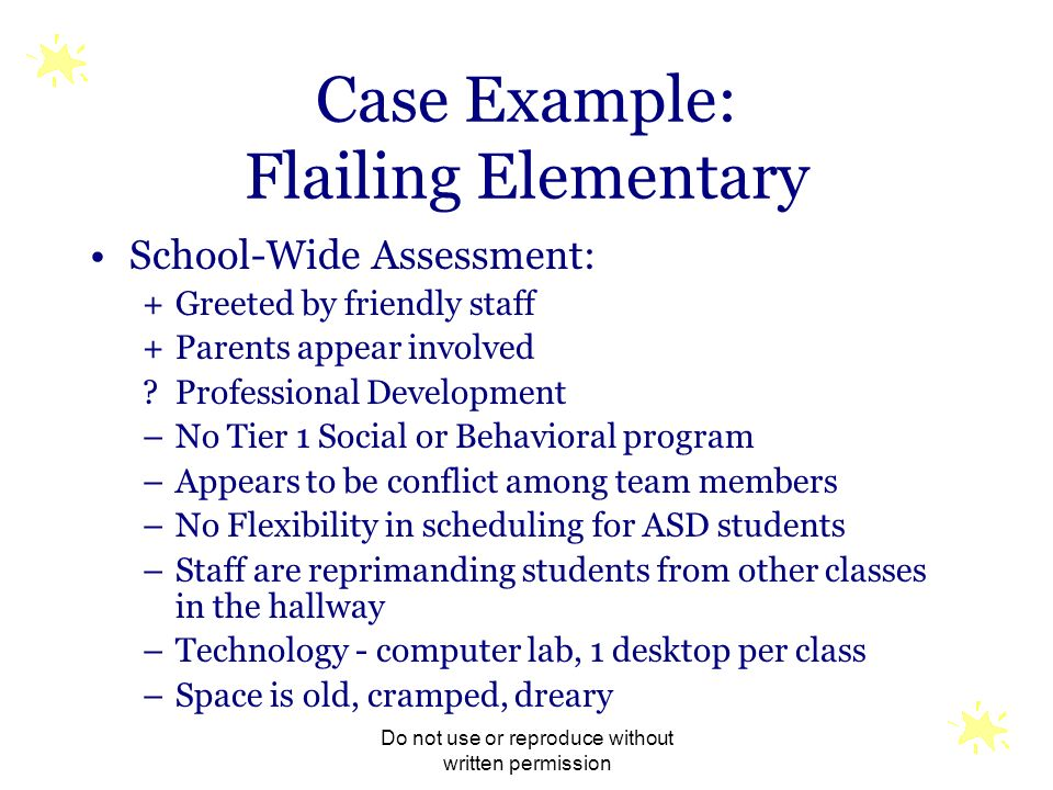 Case Example: Flailing Elementary
