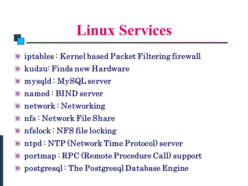 linux network administration commands pdf