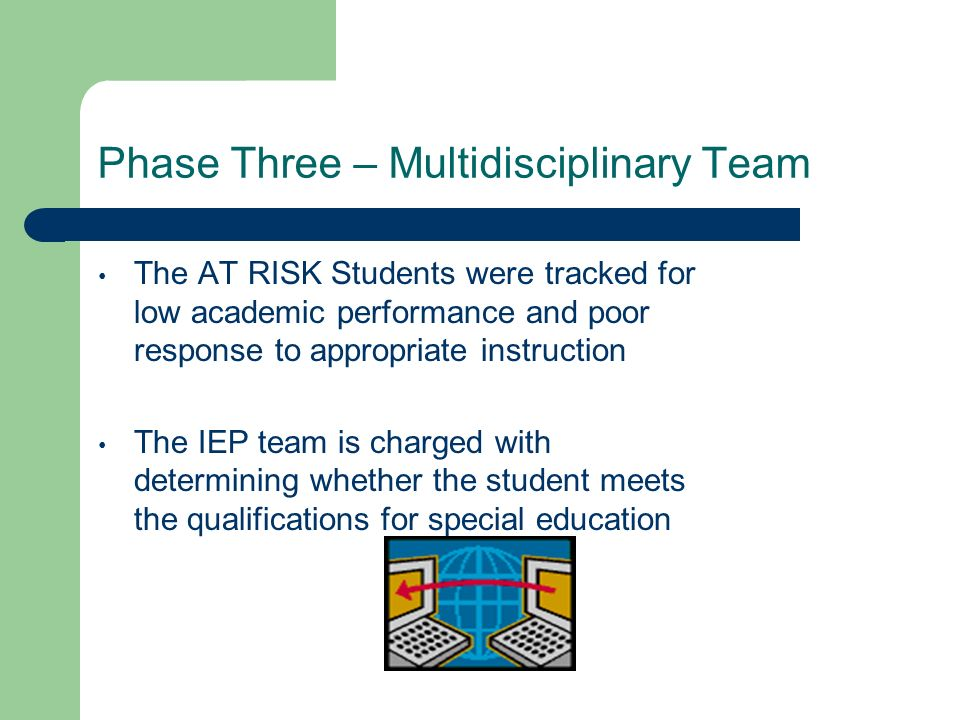Phase Three – Multidisciplinary Team