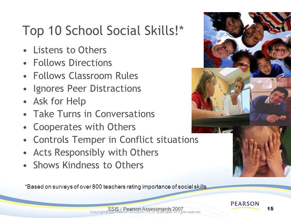 Top 10 School Social Skills!*