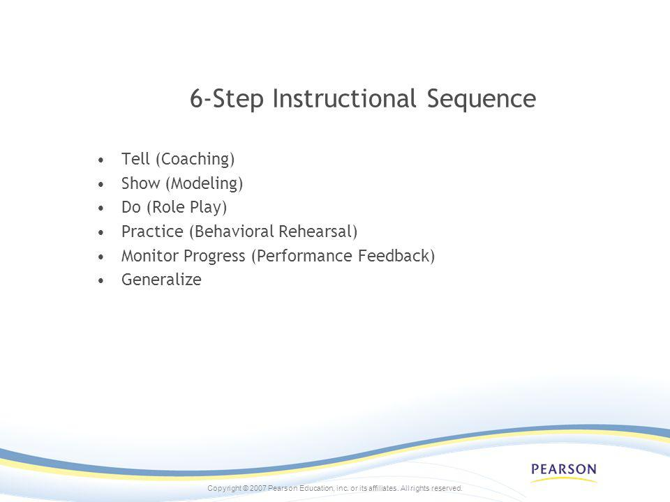 6-Step Instructional Sequence