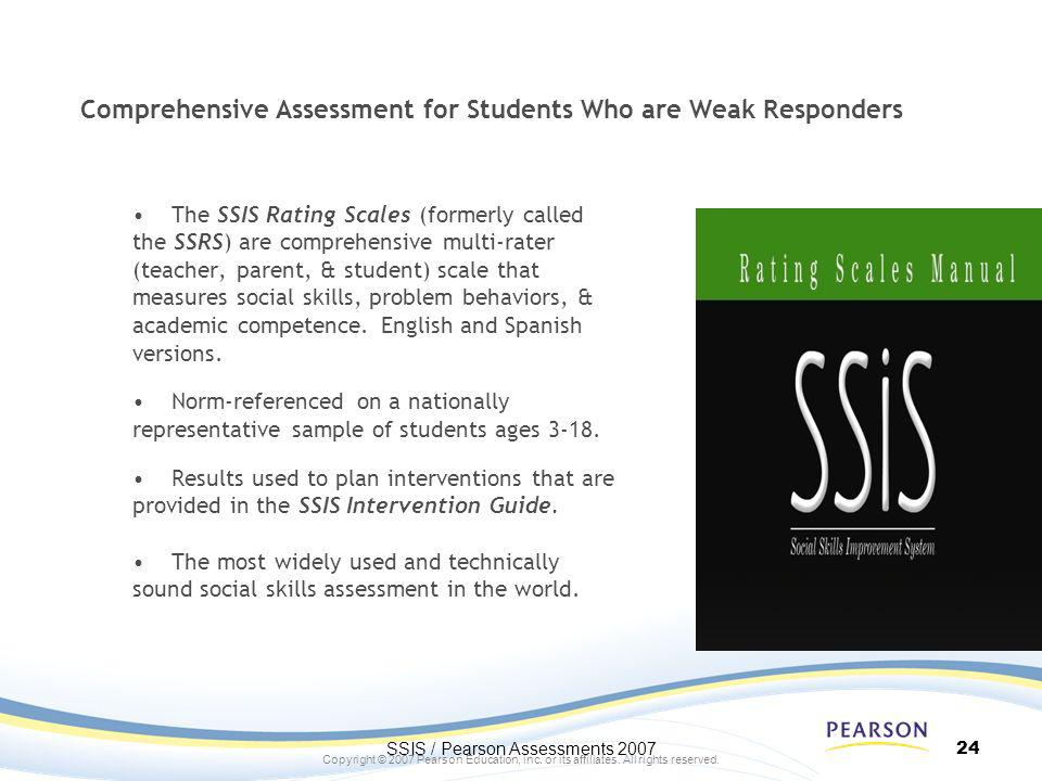 Comprehensive Assessment for Students Who are Weak Responders