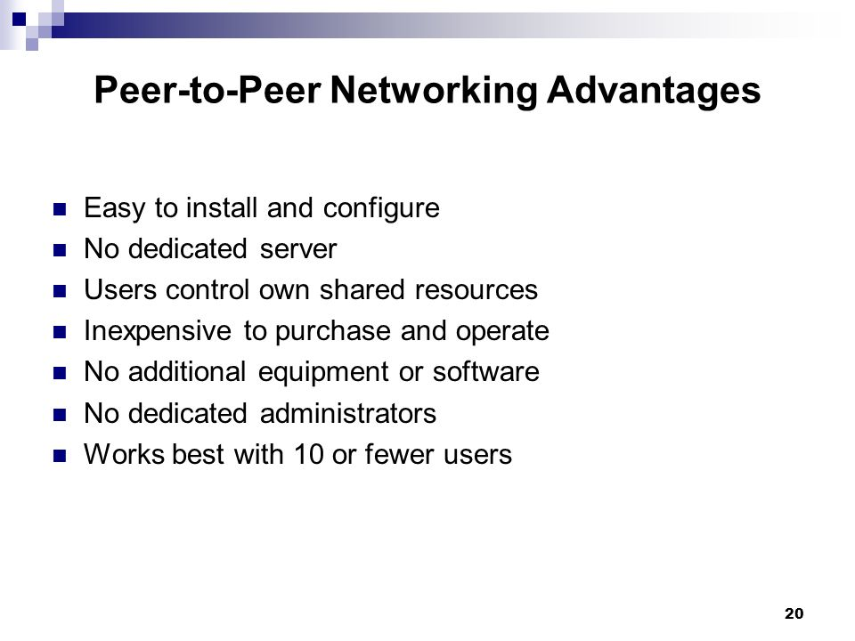 comparing and contrasting peer to peer and client server networks Peer-to-peer applications are best explained by contrasting with client/server peer-to-peer applications are best explained by contrasting with client/server in client/server applications, like .