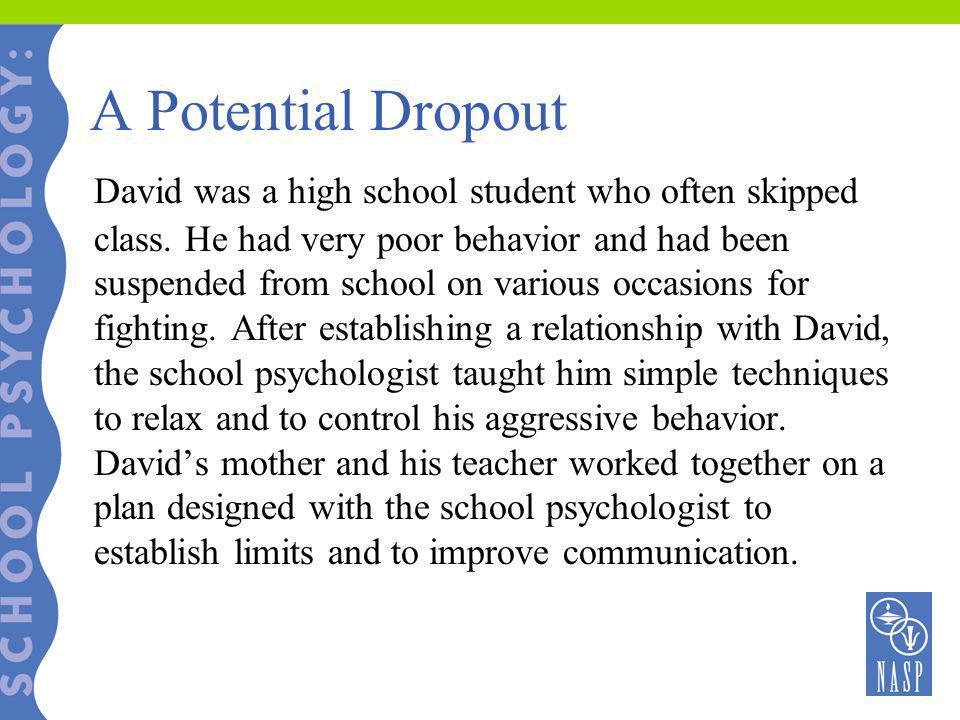 A Potential Dropout