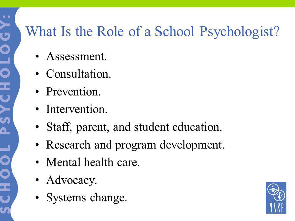 What Is the Role of a School Psychologist