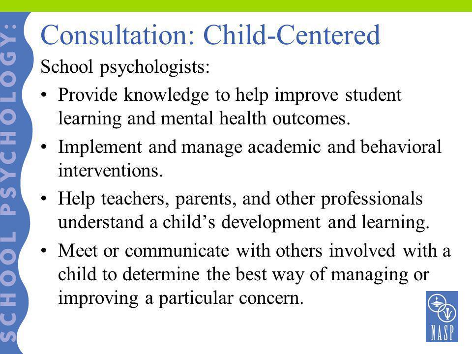 Consultation: Child-Centered