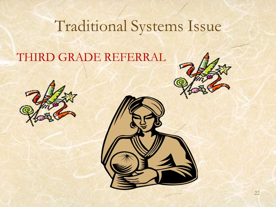 Traditional Systems Issue