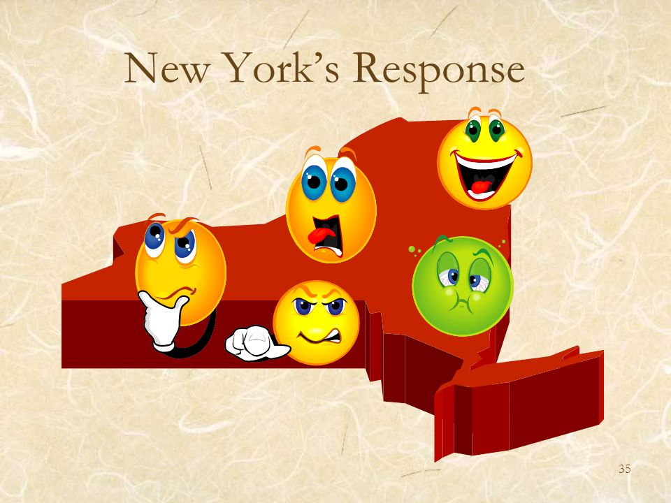 New York's Response