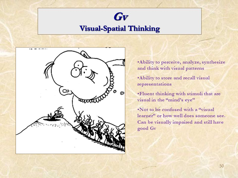 Visual-Spatial Thinking