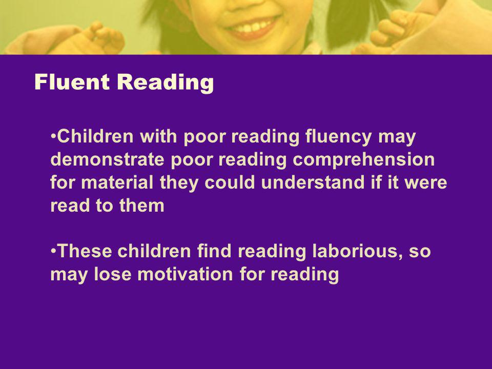 Fluent Reading