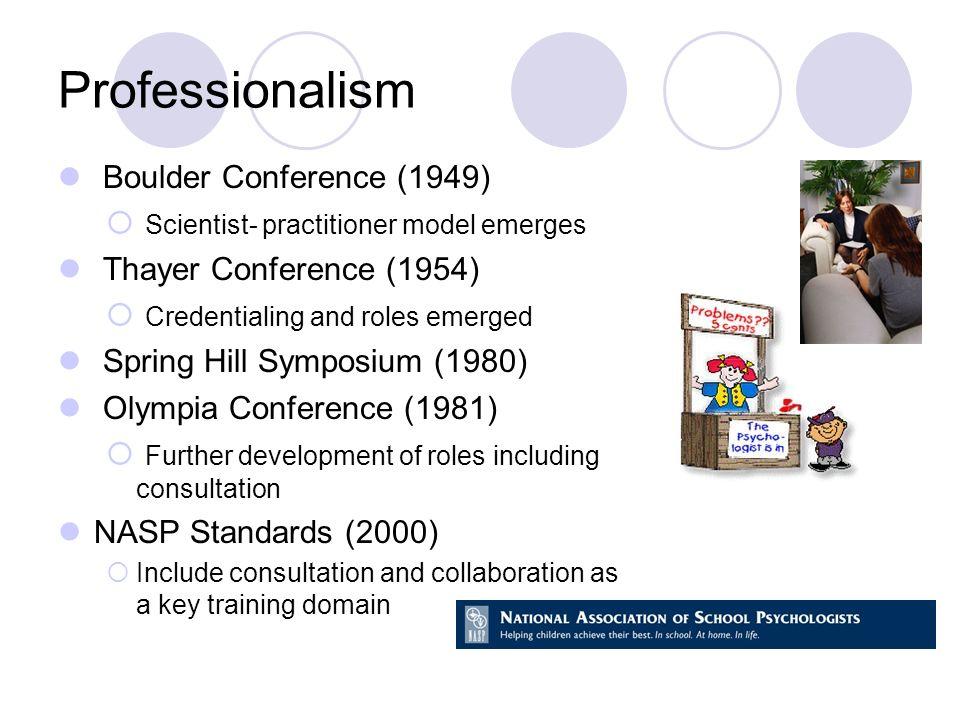 Professionalism Boulder Conference (1949)