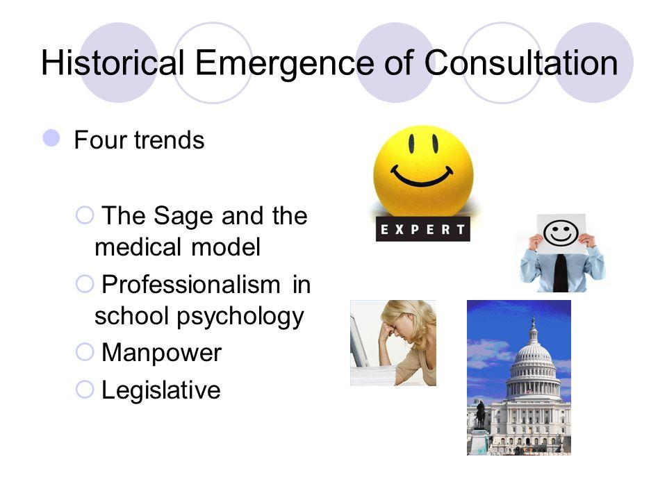 Historical Emergence of Consultation