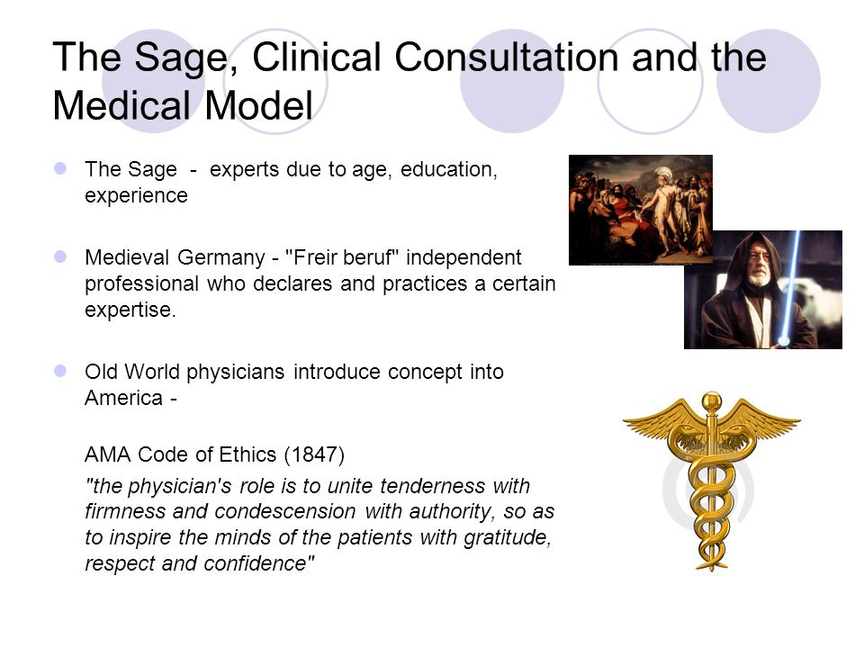 The Sage, Clinical Consultation and the Medical Model