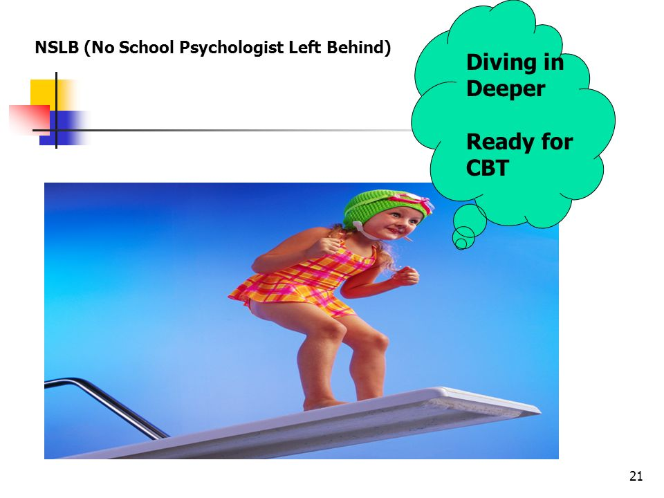 Diving in Deeper Ready for CBT