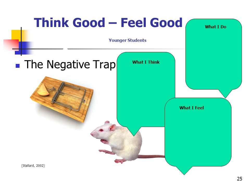 Think Good – Feel Good Younger Students