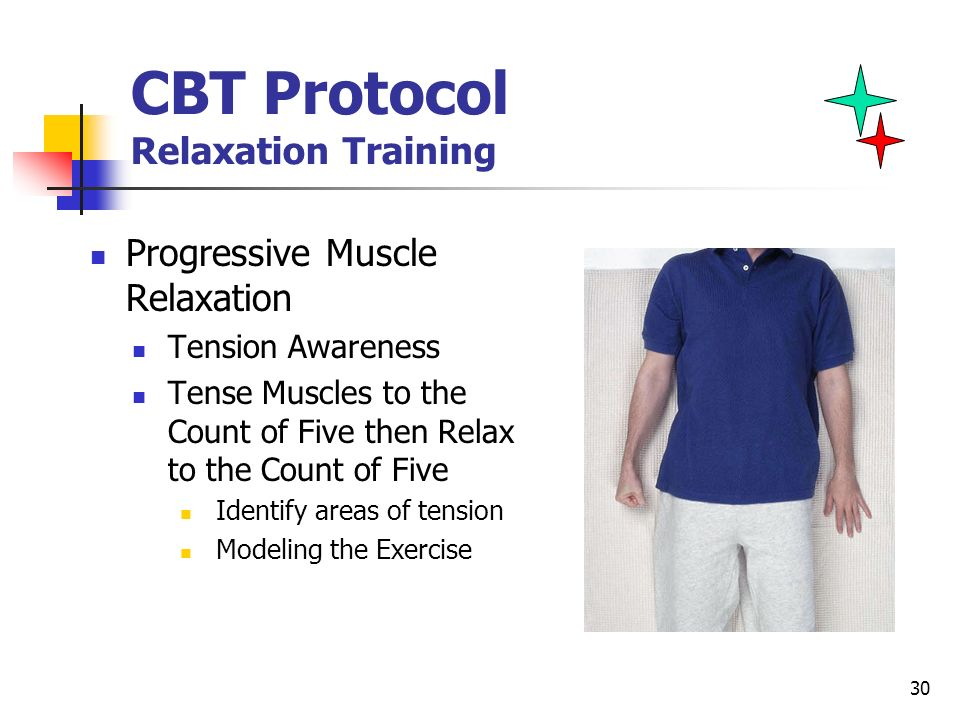CBT Protocol Relaxation Training