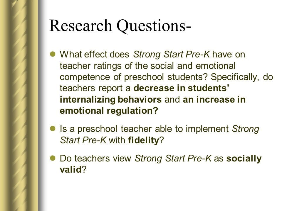 Research Questions-