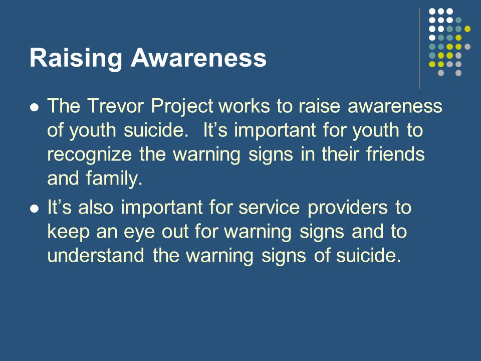 Raising Awareness