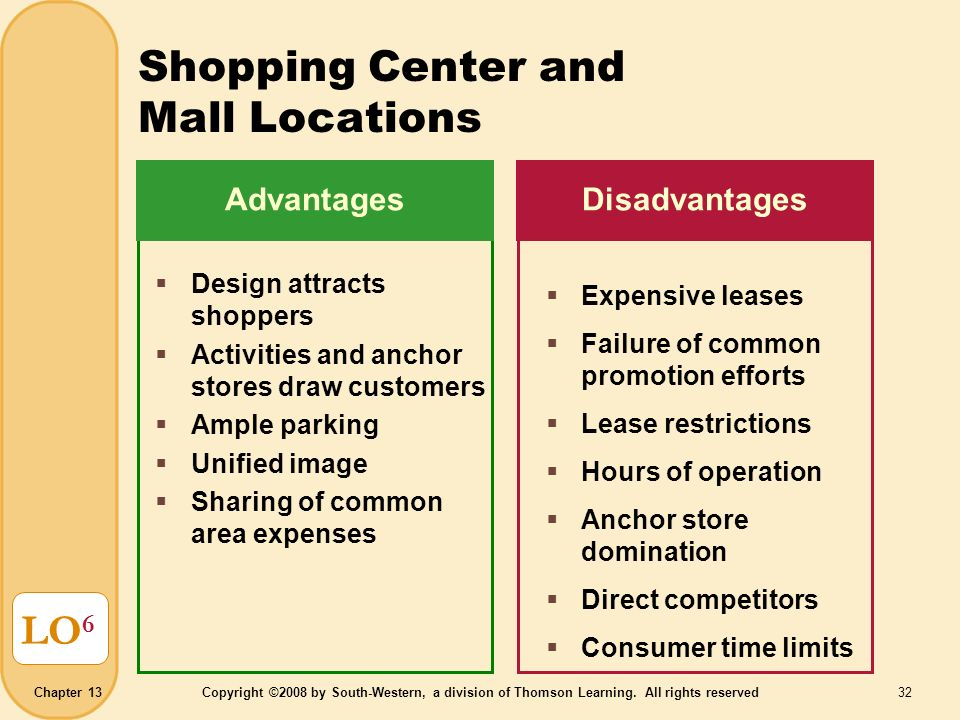 advantages of shopping malls pdf